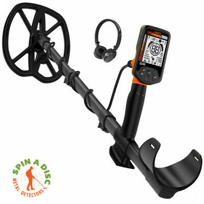 """Quest 40 Metal Detector With 9.5 X 11""""  Turbo D Raptor Coil Coil."""