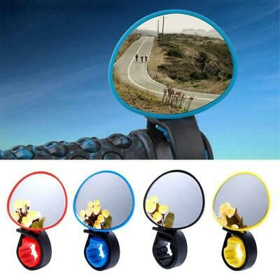 Cycling Bike Bicycle Handlebar Rear View Mirror Flexible 360° Safety Back View