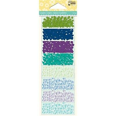 Jillibean Soup Shaker Filler 8/pkg-cool Mix Jewel Sequins