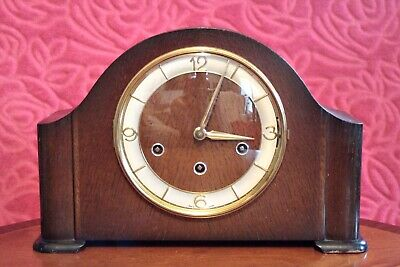 Antique German 'SCHATZ' 8-Day Mantel Clock with 3 Melodies Chimes
