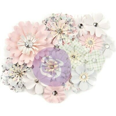 Prima Marketing Poetic Rose Paper Flowers 14/pkg-magical Melody
