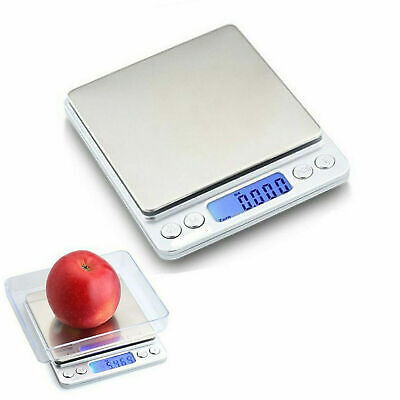 0.01g-500g Electronic Pocket Digital LCD Weighing Scales Kitchen Food Jewellery