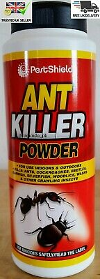 Ant Killer Powder 300g Indoor & Outdoor Kills Ants Cockroaches Beetles Insects