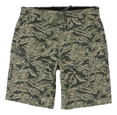 0c7df6ec5c Brixton Mens Transport 20 Cargo All Terrain Shorts Digi Tiger Camo 32 New
