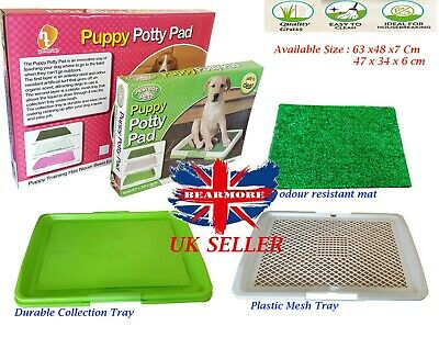 Large Dog Potty Pads Tray Pot Toilet Trainer Obedience Mat Indoor House