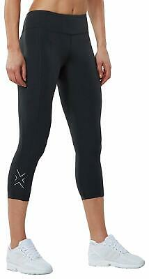 52464c7114ab1a ... Hi-Rise Compression Tights Higher Waistband Workout Gym Sports.
