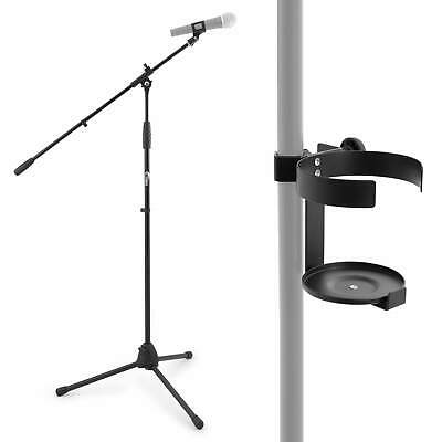 Tiger Boom Microphone Stand with Drinks Cup Holder