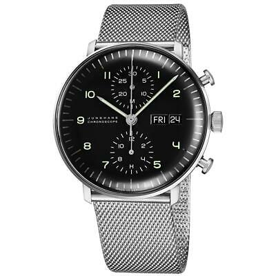 Junghans Men's Max Bill Chronoscope 40mm Automatic Analog Watch 027/4500.45