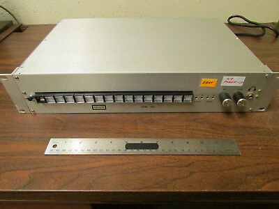 Hedco AVM-200 Video Audio Switch Rackmount As-Is