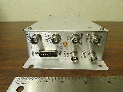 Varian Prototype Mixer Receiver 0191422700 Rev. A