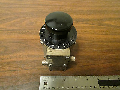Step Attenuator 75-Ohm 0-15DB Tested Working DC - 600MHz