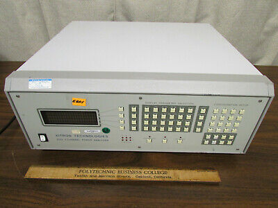 XITRON 2503 3-Channel Power Analyser System Analyzer AS-IS