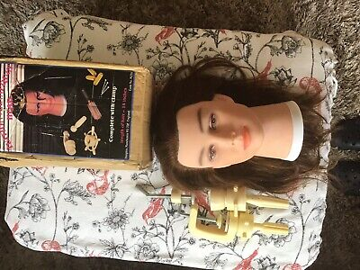 Hairdressing Tution Mannequin Head Hair Length 14""