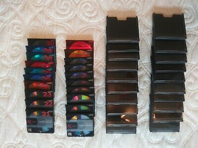 20 Sony Recordable Minidiscs. 74 Minute. With Cases. Pristine Condition.