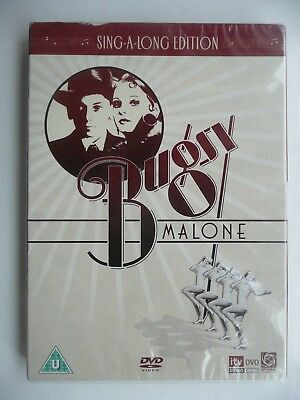 Bugsy Malone - Sing-A-Long Edition (DVD, 2007) New and Sealed with slip cover