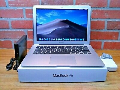 "Apple MacBook Air 13"" / 1.8GHz Core i5 / UPGRADED 256GB SSD / 4GB RAM / OS-2017"