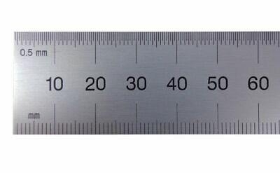 PEC Blem Cosmetic Second 150 mm Flexible Ruler Metric Grads (.5 mm and mm)