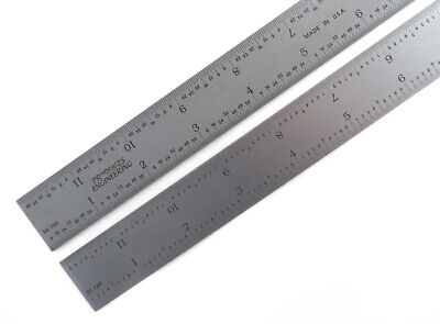 "PEC Blem Cosmetic Second 18"" Rigid Ruler 16 Grads (1/50, 1/100, 1/32 & 1/64)"