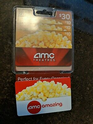 AMC Theatres Gift Cards $55 total