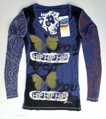 T-SHIRT DESIGUAL By LACROIX  Folksong    Taille S