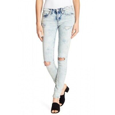 Blank Nyc 152389 The Reade Women's Jeans Classic Skinny Distressed Size 27