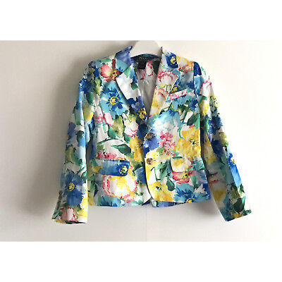 Polo Ralph Lauren Girl's Floral Blazer - Size Uk 5 Years