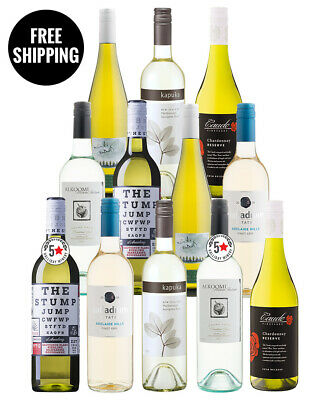 White Sampler Dozen (12 Bottles)