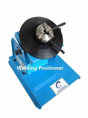 Light Duty Welding Turntable Positioner 10Kg 2-18RPM With 80Mm Chuck pe