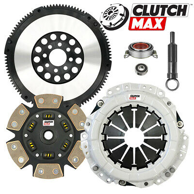 PPC STAGE 4 CLUTCH KIT+FLYWHEEL WORKS WITH PRIZM VIBE CELICA COROLLA MATRIX MR2 1.8L 5SPD