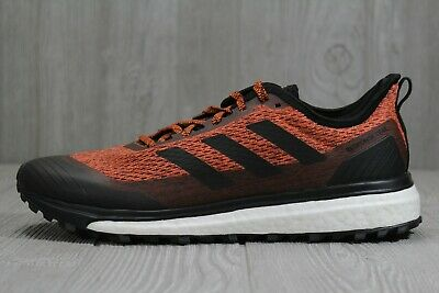 code promo 64021 4a130 40 NEW MENS Adidas Response Trail Boost 'Orange Carbon' Shoes Size 10 CG4010