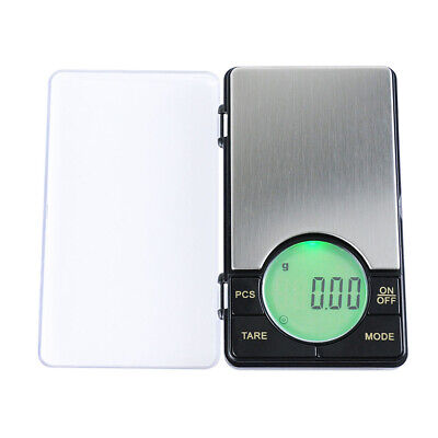 500g/0.1g High-precision Electronic Pocket Scale Mini LCD Digital Gold C5E0