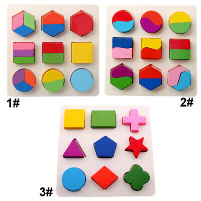 Building Jigsaw Puzzle Toy Blocks Educational Multi-color High Quality Kit Kids