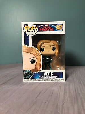 VERS #427 Funko Pop! Marvel - Captain Marvel