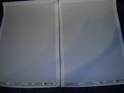 LETRATONE LT 29 (10%) Heat Resistant Screentone  2  Large Sheets 50 lines/inch