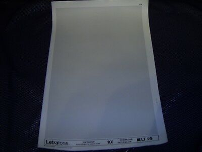 LETRATONE LT 29 (10%) Heat Resistant Screentone Large Sheet 50 lines/inch