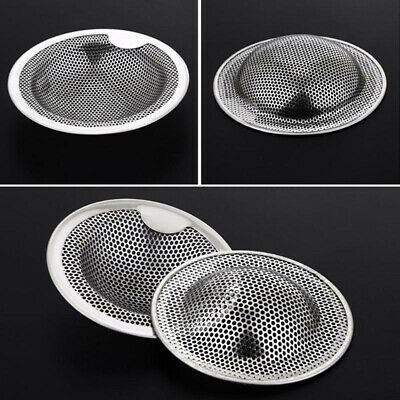 1Pc Stainless Steel Mesh Sink Strainer Drain Stopper Trap Kitchen Bathroom GH