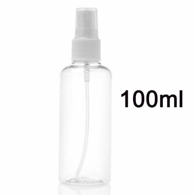10pcs 100ml Clear Travel Transparent Plastic Perfume Atomizer Empty Spray Bottle