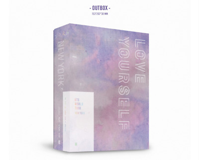 BTS World Tour 'LOVE YOUR SELF' NEWYORK DVD 2Discs+Photobook+Photocard+Etc+Track