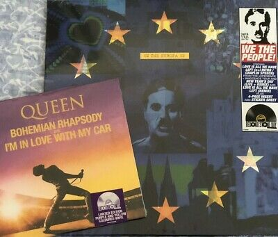 "U2 The Europa Ep/Queen Bohemian Rhapsody 7"" Purple&Yellow Record Store Day 2019"