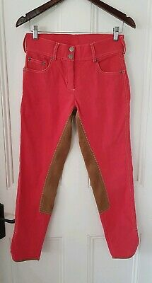 Women's Thomas Cook Red Equestrian Pants size 8