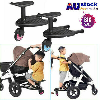 Safety Comfort Kids Child Stroller Step / Wheeled Pushchair / Buggy Step Board