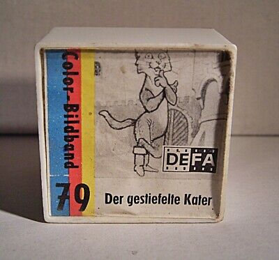 "03 030 DDR Color-Bildband ""Der gestiefelte Kater (79)"",Text im Film"