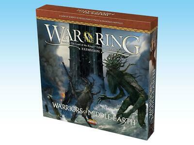 Ares LotR Boardgame Warriors of Middle Earth (2nd Printing) Box SW