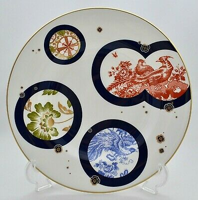 New Royal Crown Derby Japanese Imari Accent Plate *Hachi* By Peter Ting