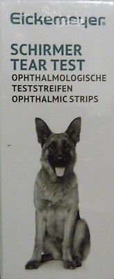 Schirmer Opthalmic Strips/ Tear Test Strips. Box Of 100 Sterile Ind. Wrapped