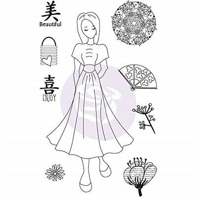 Julie Nutting Mixed Media Cling Rubber Stamps-kyoko