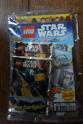 Lego Star Wars Magazine France Hors Serie N°3+Polybags Naboo Starfihgter-Acklay