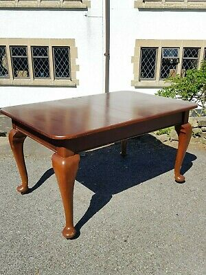 Lovely Antique Victorian Windout/Wind Out Oak Dining Table Joseph Fitter Handle