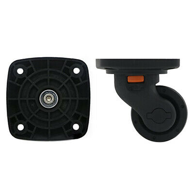 Luggage Spinner Wheel Replacement Flat Base Caster for Suitcase Bag Repair W054