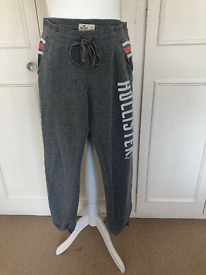 Girls Grey Hollister Tracksuit, Bottoms Small, Top Medium